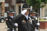 Peace Officer Memorial Day on Friday, May 14, 2010 in Oxford, Miss.