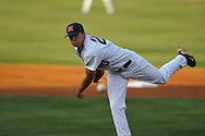 Ole Miss' Matt Crouse (20) pitches vs. Mississippi State at Oxford-University Stadium in Oxford, Miss. on Thursday, May 12, 2011.