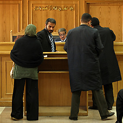 Family Court Appeals Judge Ahmed Abdel Gileel hears cases at the Courthouse of New Cairo Personal Status and Family Courts in Cairo, Egypt on March 5, 2008. Recently in the Muslim world, the reputation of Shariah law has undergone an extraordinary revival.