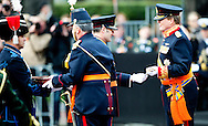 THE HAGUE - KING WILLEM ALEXANDER ATTENDS THE 200 years militairy celebration in The Hague. COPYRIGHT ROBIN UTRECHT