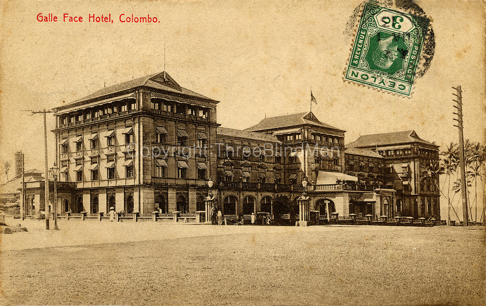The Galle Face Hotel, Colombo.