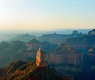 Arizona, Grand Canyon National Park, North Rim, View From Point Imperial