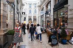 Interior of Passage shopping mall in Den Haag, The Hague, Netherlands