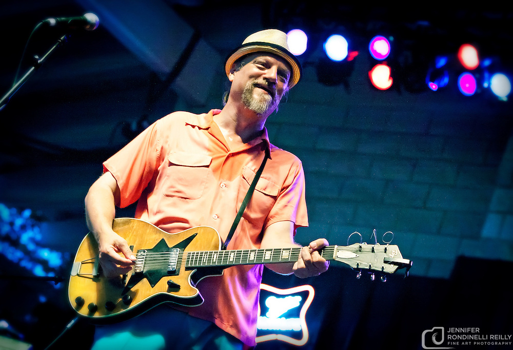 Paul Cebar Tomorrow Sound performing live at Summerfest 2011. Photo © 2011 Jennifer Rondinelli Reilly. All rights reserved. No use without permission.  Contact me for any reuse or licensing inquiries.