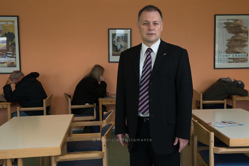 Leiter Diakonie-Hilfswerk Hamburg. Pastor Dirk Ahrens