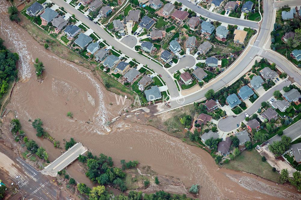 Lyons Colorado flood damage