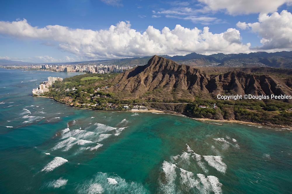Diamond Head, Waikiki, Oahu, Hawaii