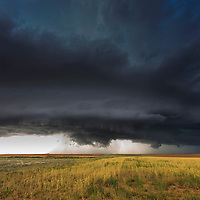 Tornado Alley is a colloquial term for the area of the United States (or by some definitions extending into Canada) where tornadoes are most frequent.[1] The term was first used in 1952 as the title of a research project to study severe weather in parts of Texas, Oklahoma, Kansas, South Dakota, Iowa, Illinois, Missouri, New Mexico, Colorado, North Dakota, and Minnesota only.[citation needed] It is largely a media-driven term although tornado climatologists distinguish peaks in activity in various areas[2] and storm chasers have long recognized the Great Plains tornado belt.[3]<br /> <br /> Although the boundaries of Tornado Alley are not clearly defined, its core extends from northern Texas, Oklahoma, Kansas, into Nebraska.[4] Some research suggests that tornadoes are becoming more frequent in the northern parts of Tornado Alley where it reaches the Canadian prairies.[5]