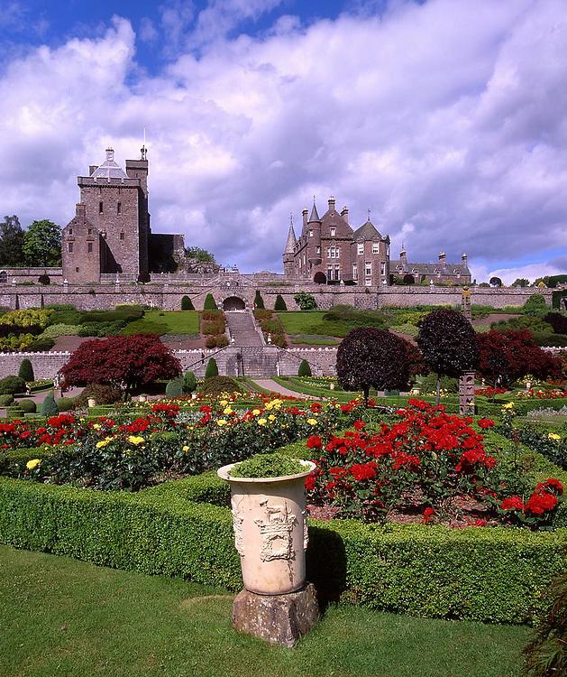 Drummond Castle nr Crief, Perthshire.