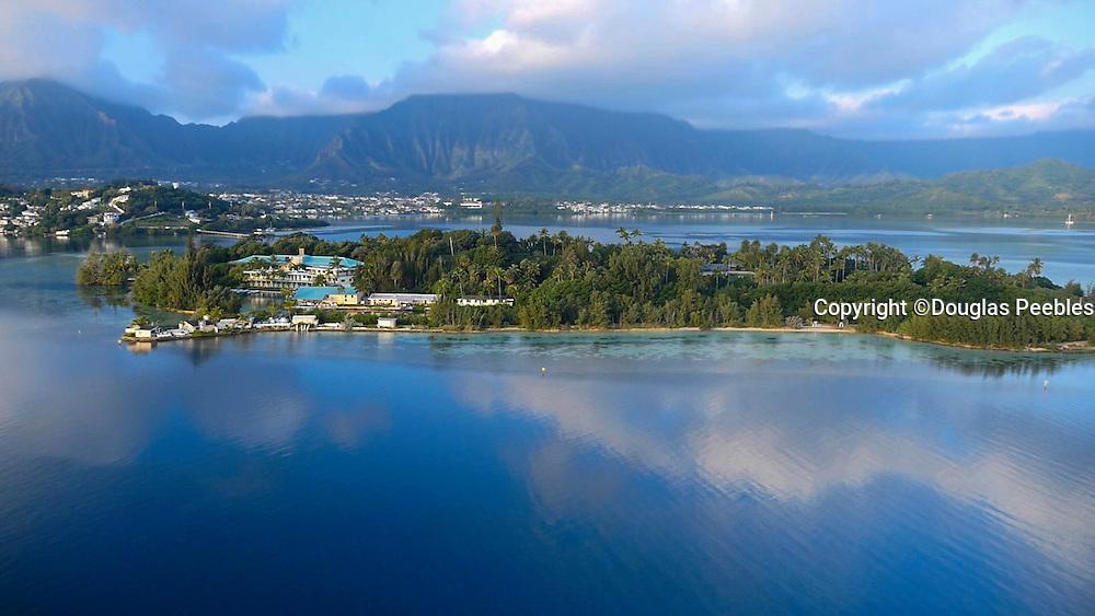 Coconut Island, Kaneohe Bay, Oahu, Hawaii