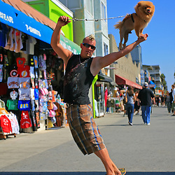 The Fly'n Lion, Venice Beach, Los Angeles, California