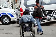 Persona en silla de rueda