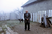 Daily life in the countryside in Moldova.