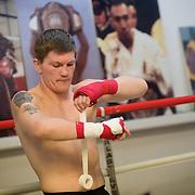 Ricky Hatton training feature