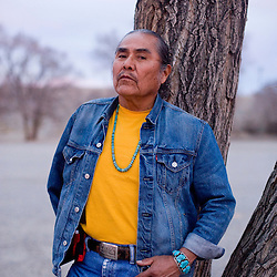 """Duane """"Chili"""" Yazzie is the president of the Shiprock Chapter of the Navajo Nation and opposed the sale of the Navajo Mine."""