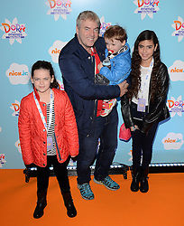 Donal Macintyre, Tiger-Lily, Hunter and Allegra  attend Dora and Friends TV Premiere at Empire Leiceter Sq, London on Sunday 2.11.2014