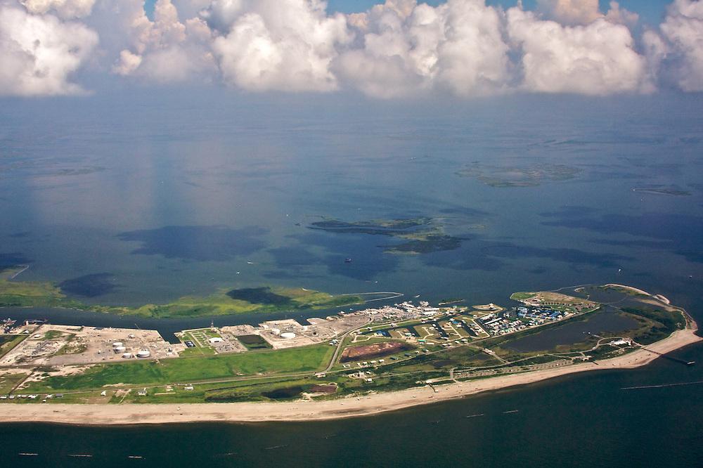 Grand Isle, Barataria Bay, Louisiana, USA