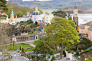 May in Portmeirion