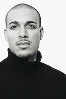 Portrait of Bryan Guy, a model in Seattle, WA.