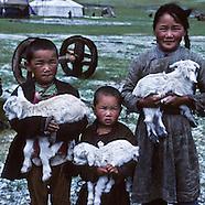 Mongolia, Mongols portraits