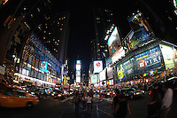 Times Square by night.
