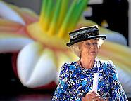 Beatrix start Nationale Tuinweek