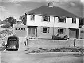 1952 Houses and Shops at Roebuck Estate on Goatstown Road