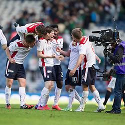Hibernian v Falkirk, William Hill Scottish Cup semi-final 18/4/2015