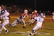 Water Valley's Quinterrio Bailey (24) makes a tackle vs. South Pontotoc in Pontotoc, Miss. on Friday, October 7, 2011. Water Valley won 49-7.