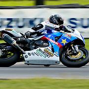 14 AUGUST 2009: AMA at Virginia international race way super bike qualifying, 7 Mat Maldin Rockstar/MakitaSuzuki GSX-R1000