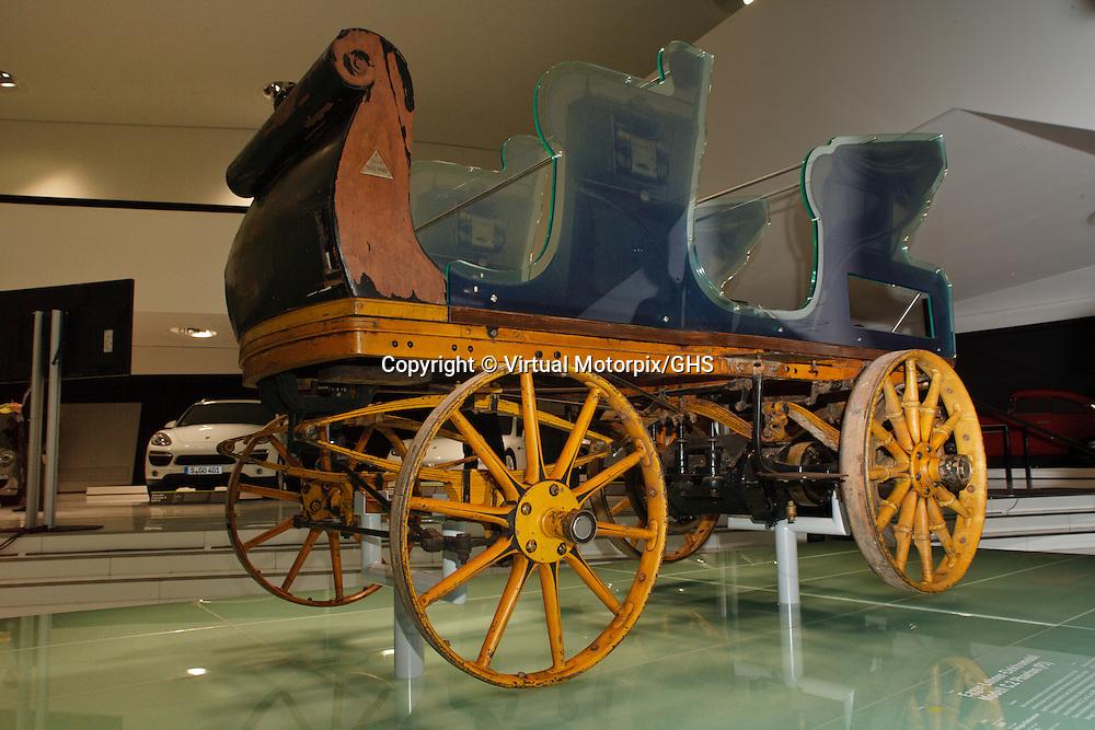 Egger Lohner Electric Vehicle C 2 Phaeton Model From 1898 Porsche P1 Virtual Motorpix
