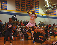 Oxford High vs. Baldwyn in boys high school basketball action in Oxford, Miss. on Monday, January 3, 2011. Baldwyn won 73-53.