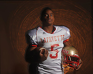 Lafayette High running back DeMarkus Dennis is the Oxford Eagle's Player of the Year, photographed in Oxford, Miss. on Wednesday, December 15, 2010. Dennis rushed for 2,264 yards and scored 26 touchdowns to help lead the 16-0 Commodores to their first ever state title in Class 4A.