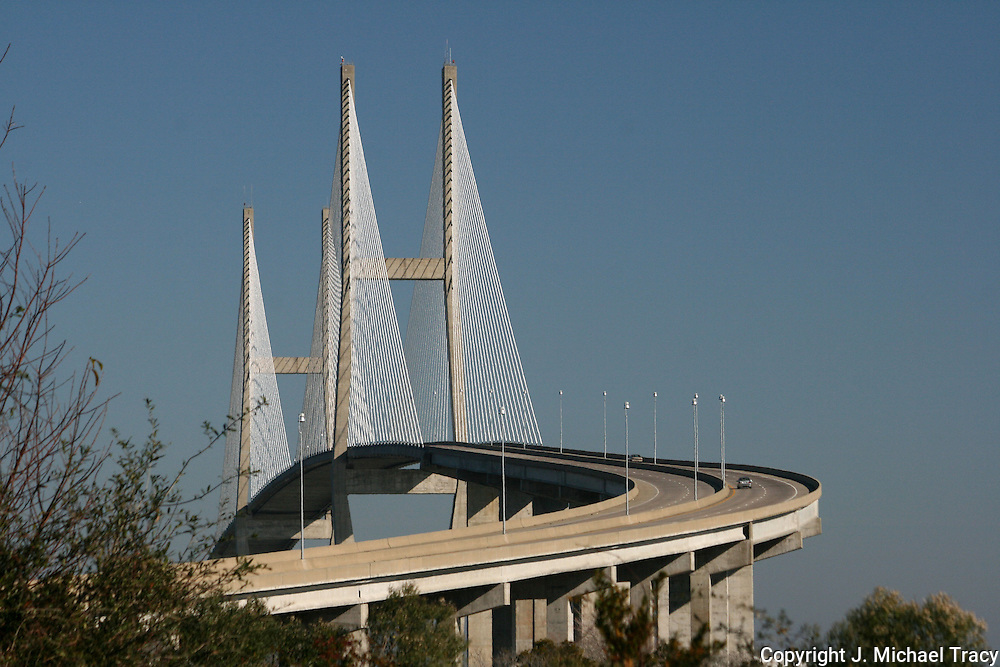 Bridge to mainland from Jekyll Island to Brunswick GA.