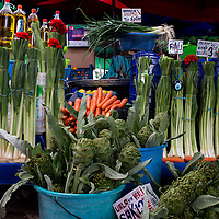 Leeks and the Evil Eye at Urla Market