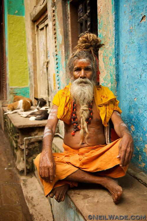 India-Varanasi-sadu-asetic-holy-man.jpg | Neil Wade ... Sadu