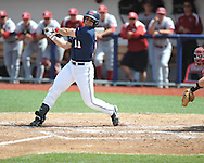 Mississippi's Zach Kirksey (11) vs. Arkansas at Oxford-University Stadium in Oxford, Miss. on Sunday, April 22, 2012. Arkansas won 11-3.