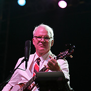 Steve Martin & The Steep Canyon Rangers featuring Woody Platt (guitar, lead vocals), Graham Sharp (banjo, harmony vocals), Mike Guggino (mandolin, harmony vocals), Charles R. Humphrey III (bass, harmony vocals), and Nicky Sanders (fiddle, harmony vocals) performs during the second day of the 2010 Bonnaroo Music & Arts Festival on June 10, 2010 in Manchester, Tennessee. The four-day music festival features a variety of musical acts, arts and comedians..Photo by Bryan Rinnert/3Sight Photography