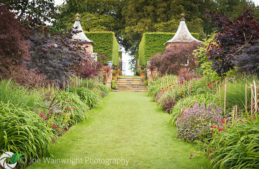 The Red Borders at Hidcote Manor gardens, Gloucestershire, are colourful in June, as pictured here - but are at their sumptuous best in late july.
