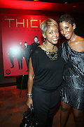 l to r: Carla Bone and Chante Timberlake at the Robin Thicke?s Album Release ' Something Else' with Exclusive Event at Rainbow Room sponsored by Target on September 20, 2008 in New York City.