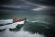 Nominated in 10th (2017) International Colour Awards (Fine Art category) <br /> <br /> RNLB Lilly &amp; Vincent Anthony <br /> <br /> Trent Class Lifeboat on temporary loan to Holyhead Lifeboat station<br /> <br /> One of a series of images from my RNLI working project over the next year or so with Holyhead Lifeboat Station and Crew.