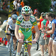 Tour de France 2005: Floyd Landis (USA), Team Phonak. Copyright: Lothar Kutschera, Maybachstraße 12, D-71706 Markgröningen, Telefon 07145-26543, 0711-182-1474 (Redaktion), 0170-2054671 (mobil). E-mail: Fotokutschera@aol.com oder lkutschera@motorpresse.de