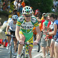 Tour de France 2005: Floyd Landis (USA), Team Phonak. Copyright: Lothar Kutschera, Maybachstraße 12, D-71706 Markgröningen, Telefon 07145-26543, 0711-182-1474 (Redaktion), 0170-2054671 (mobil). E-mail: Fotokutschera@aol.com oder lkutschera@motorpresse.de