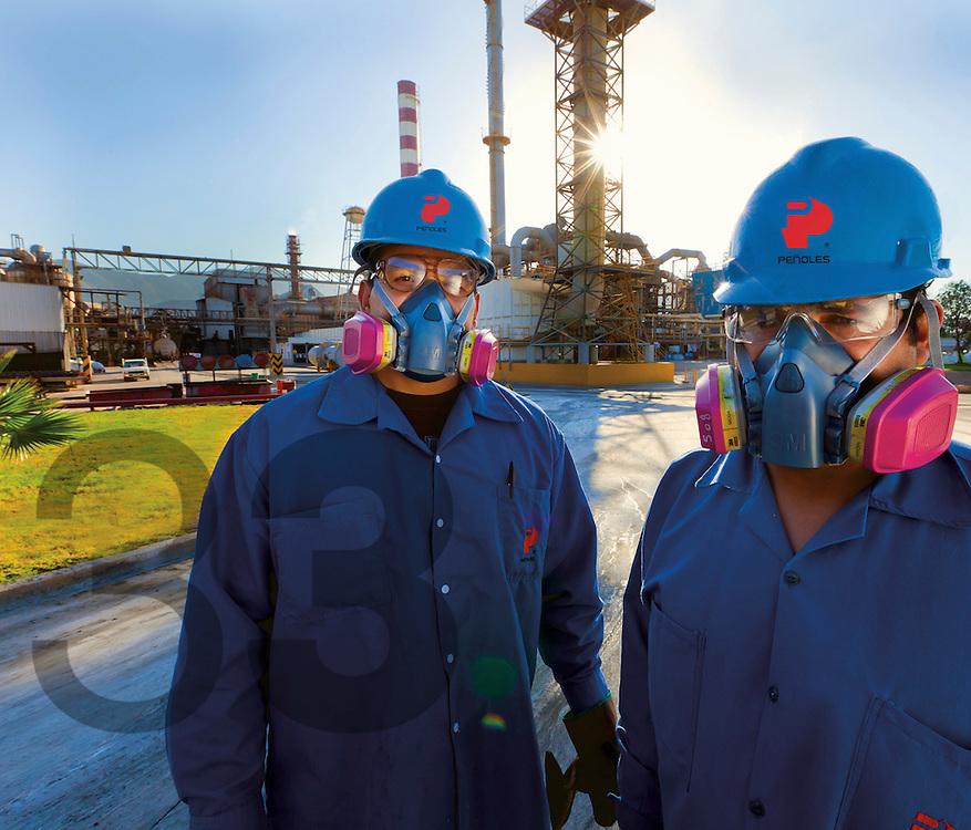 Fundici--n Plomo, Met-Mex. Torre--n, Coahuila, Mexico - Industrias Pe-oles