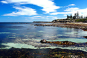 An extreme low tide at Cottesloe surf breaks Seconds and Iso's.