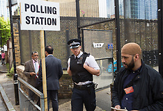 MAY 22 2014 Police presence at Polling stations