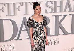 Fifty Shades Darker Premiere held at Odeon Leicester Square, London on Thursday 9 February 2017