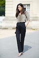 Barbara Martello at Dior Couture