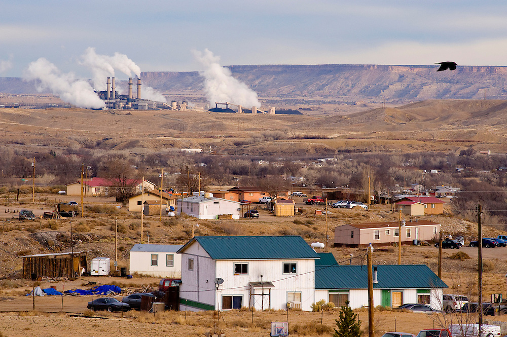 The San Juan Generating Station operates in northwestern New Mexico. The plant is a short distance from the Four Corners Power Plant.