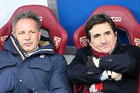 12.02.2017 - Torino - Serie A 2016/17 - 24a giornata  -  Torino-Pescara  nella  foto:  Sinisa Mihajlovic insieme al presidente del Torino Urbano Cairo